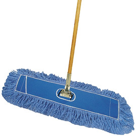 Deluxe Looped-End Dust Mop Kit 24 inch