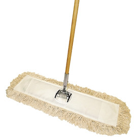 Economy Cut End Dust Mop Kit  24 inch