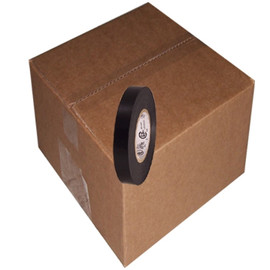 Black Electrical Tape 7 mil 1/2 inch x 66 ft (192 Roll/Pack)