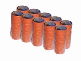 Orange Electrical Tape 3/4 inch x 66 ft Roll 7 mil (100 Roll/Pack)