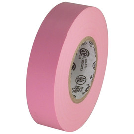 Pink Electrical Tape 3/4 inch x 66 ft Roll 7 mil
