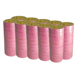 Pink Electrical Tape 3/4 inch x 66 ft Roll 7 mil (100 Roll/Pack)