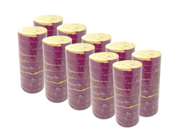 Purple Electrical Tape 3/4 inch x 66 ft Roll 7 mil (100 Roll/Pack)