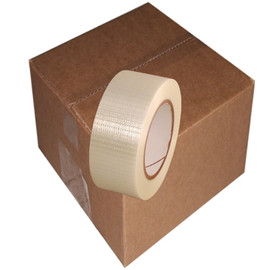 Bi Directional Filament Tape 2 inch x 60 yard Roll (24 Roll/Pack)