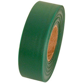 Green Flagging Tape 1 3/16 inch x 300 ft Roll Non-Adhesive