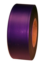 Purple Flagging Tape 1 3/16 inch x 300 ft Roll Non-Adhesive