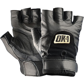 Half-Finger Impact Gloves - Medium (2 Pairs)