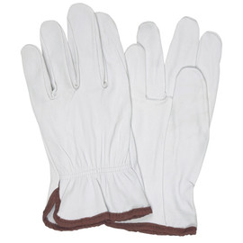 Goatskin Leather Drivers Gloves - Medium (3 Pairs)