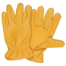Deerskin Leather Drivers Gloves - Medium (3 Pairs)
