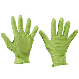Best N-Dex Nitrile Gloves Accelerator Free - Large (100 Gloves)