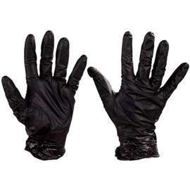 Best Nighthawk Nitrile Gloves Extended Cuff - Small (50 Gloves)