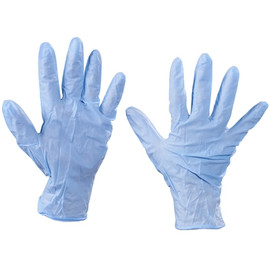 Industrial Grade Nitrile Gloves 6 Mil - Medium (100 Gloves)