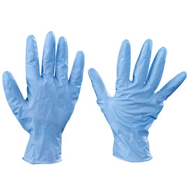 Industrial Grade Nitrile Gloves 8 Mil - Large (50 Gloves)