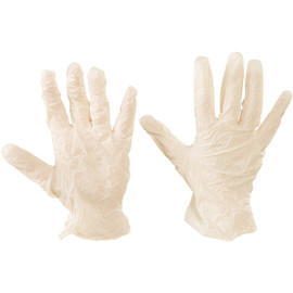 Latex Industrial Exam Grade Gloves Powder Free - Large (100 Gloves)