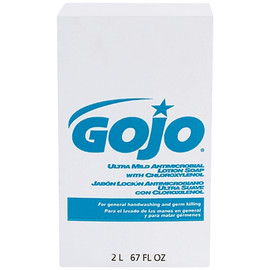 GOJO NTX Ultra Mild Antimicrobial Lotion Soap Refill Box 2,000 ml (4 Per/Pack)