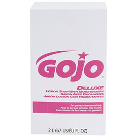 GOJO Deluxe Lotion Soap with Moisturizers Refill Box 2,000 ml (4 Per/Pack)