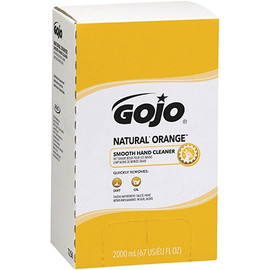 GOJO  Natural* Orange Smooth Hand Cleaner Refill Box 2000 ml (4 Per/Pack)