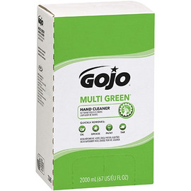 GOJO Multi-Green Hand Cleaner Refill Box 2000 ml (4 Per/Pack)
