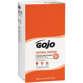 GOJO Natural* Orange Pumice Hand Cleaner Refill Box 5000 ml (2 Per/Pack)
