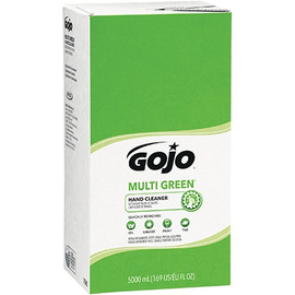 GOJO Multi-Green Hand Cleaner Refill Box 5000 ml (2 Per/Pack)
