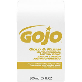 GOJO Gold & Klean Antibacterial Soap Refill Box 800 ml (12 Per/Pack)