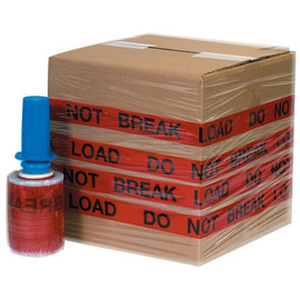 Goodwrappers® Identi-Wrap  inchDO NOT BREAK LOAD inch 5 inch x 80 Gauge x 500 ft Roll (6 Roll/Pack)