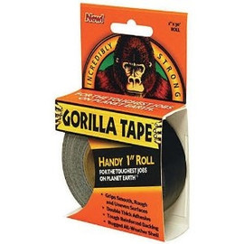 Gorilla Tape 1 inch x 30 ft Handy Roll (480 Roll/Pack)