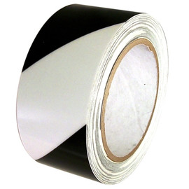 Black/Glow Hazard Safety Glow in the Dark Tape 2 inch x 30 ft Roll (6 Roll Pack)