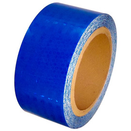 Blue Super Bright High Intensity Reflective Tape 2 inch x 30 ft Roll