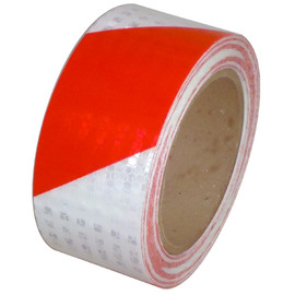 Red/White Super Bright High Intensity Reflective Tape 2 inch x 30 ft Roll