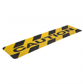 Gator Grip Premium 6 inch x 24 inch CAUTION Anti-Slip Cleat (Pack of 50)