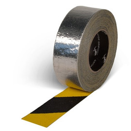 Gator Grip Yellow/Black Foil Backed Grit Tape 2 inch x 20 yard Roll (6 Roll/Pack)