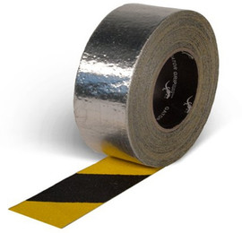 Gator Grip Yellow/Black Foil Backed Grit Tape 4 inch x 20 yard Roll (3 Roll/Pack)