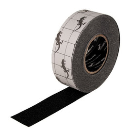 Black Mop Friendly Slip-Resistant Tape 2 inch x 60 ft (6 Roll/Pack)