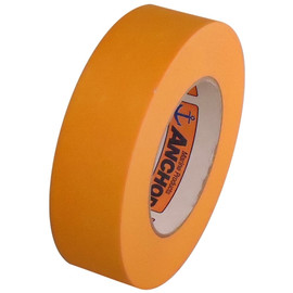 Orange Mask High Temp Premium Paper Masking Tape 1-1/2 inch x 60 yard Roll
