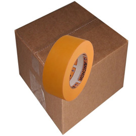 Orange Mask High Temp Premium Paper Masking Tape 2 inch x 60 yard Roll (24 Roll/Pack)