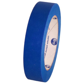 Intertape PT7 Blue UV Resistant Painters Masking Tape 1 inch x 60 yard Roll