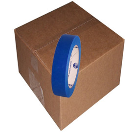 Intertape PT7 Blue UV Resistant Painters Masking Tape 1 inch x 60 yard Roll (36 Roll/Pack)