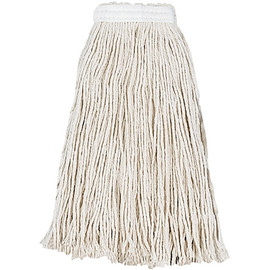 Cut-End Wet Mop Head, Cotton #16 (12 Per/Pack)