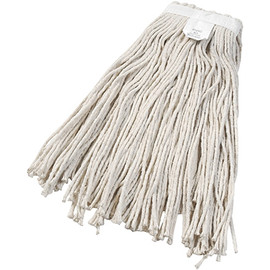 Cut-End Wet Mop Head, Cotton #24 (12 Per/Pack)