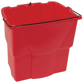 Rubbermaid Dirty Water Bucket Red 18 qt.