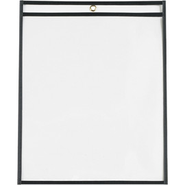 Job Ticket Holders Black 11 inch x 14 inch (25 Per/Pack)