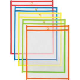 Job Ticket Holders Assortment Pack 9 inch x 12 inch (25 Per/Pack)