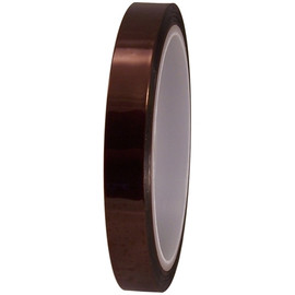 Kapton Alternative 1/2 inch x 36 yard Roll Polyimide Tape (72 Roll/Pack)