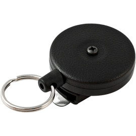 Spinner Heavy Duty Retractable Key Holder 2 inch x 2 inch x 1/2 inch (2 Pack)