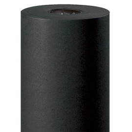 Kraft Paper Black 50 lb. 24 inch x 720 ft Roll