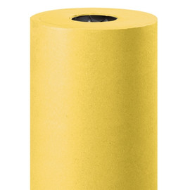 Kraft Paper Yellow 50 lb. 36 inch x 720 ft Roll
