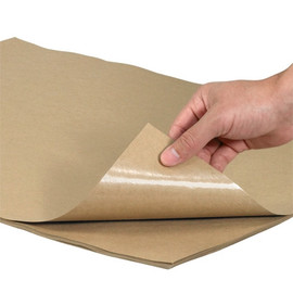 Poly Coated Kraft Paper 50 lb. 24 inch x 36 inch Sheets (410 Per/Pack)