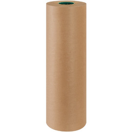 Poly Coated Kraft Paper 50 lb. 24 inch x 600 ft Roll