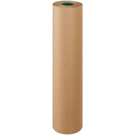 Poly Coated Kraft Paper 50 lb. 36 inch x 600 ft Roll